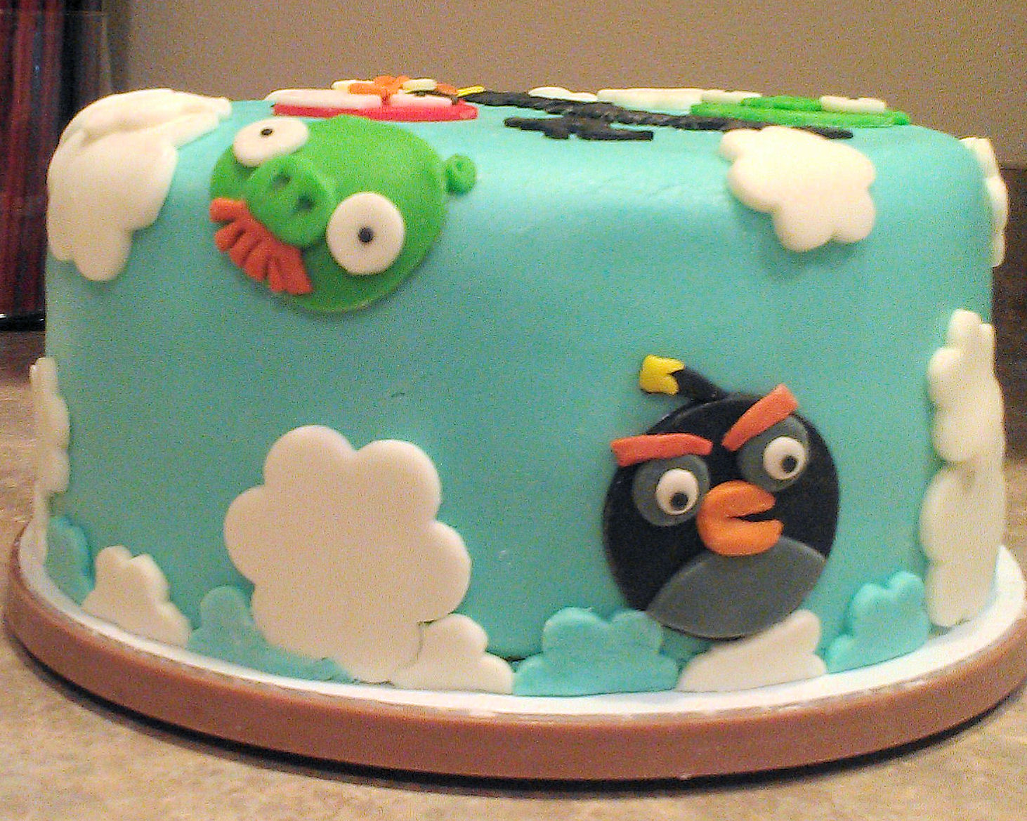 How To Make A Bird Birthday Cake