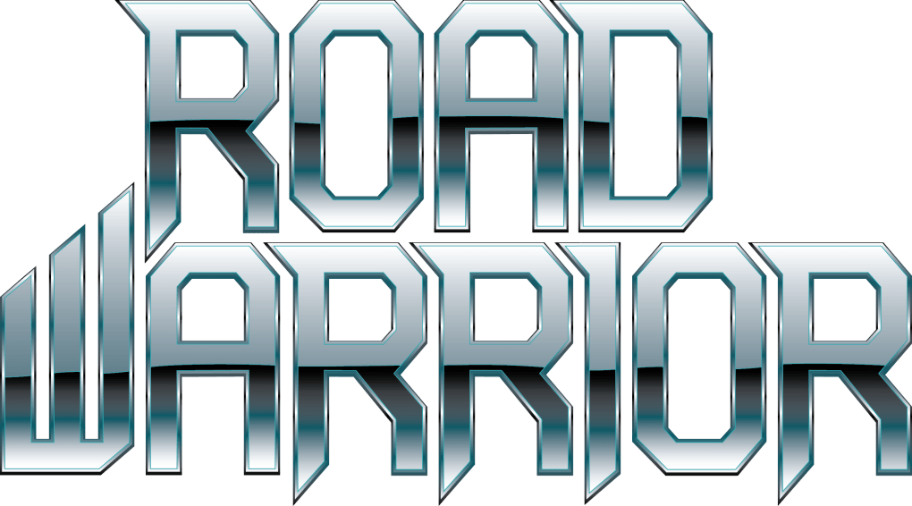 Road Warrior logo chrome
