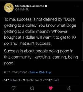 dogecoin changed lives
