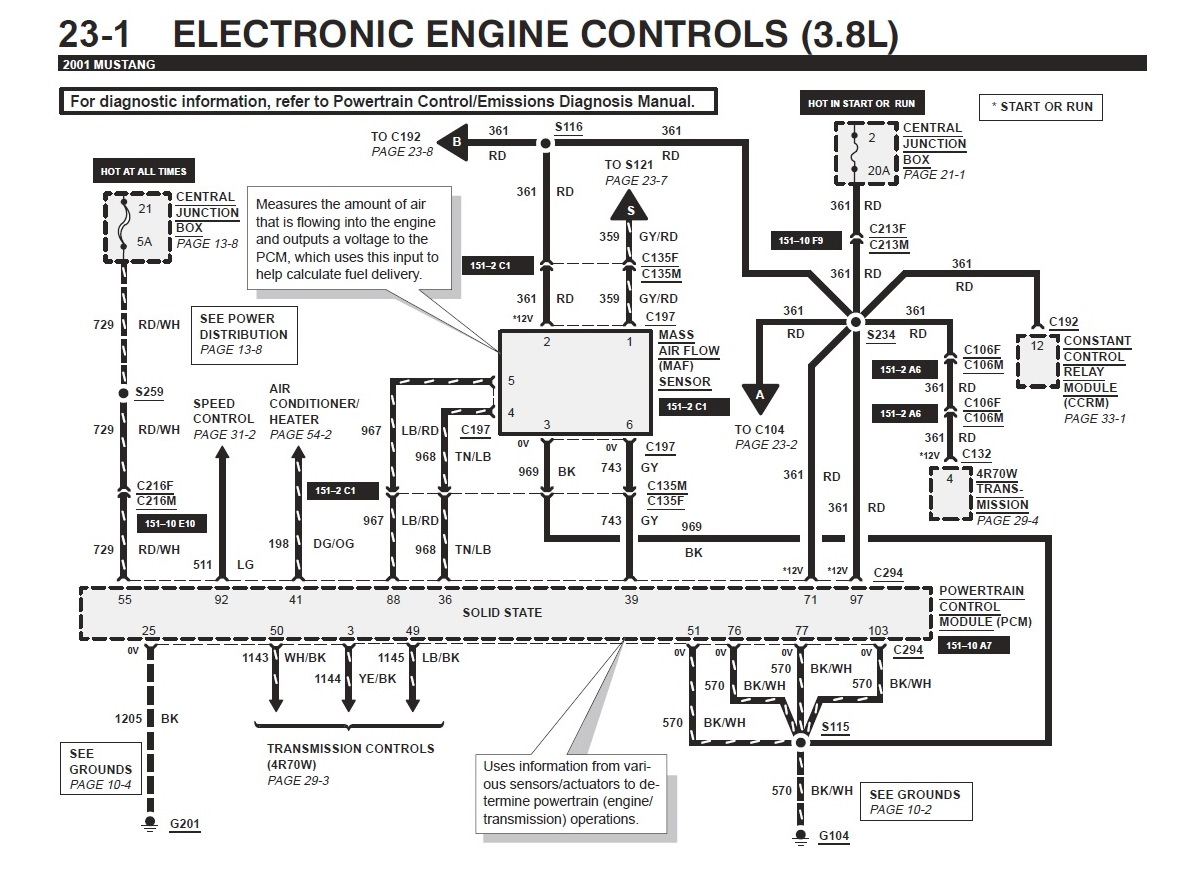 Mustang Gt Pcm Wiring Diagram