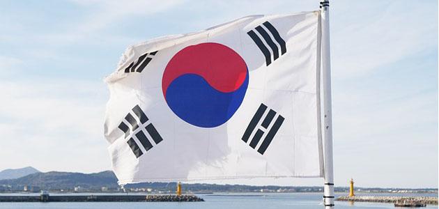 韓国の国旗の画像