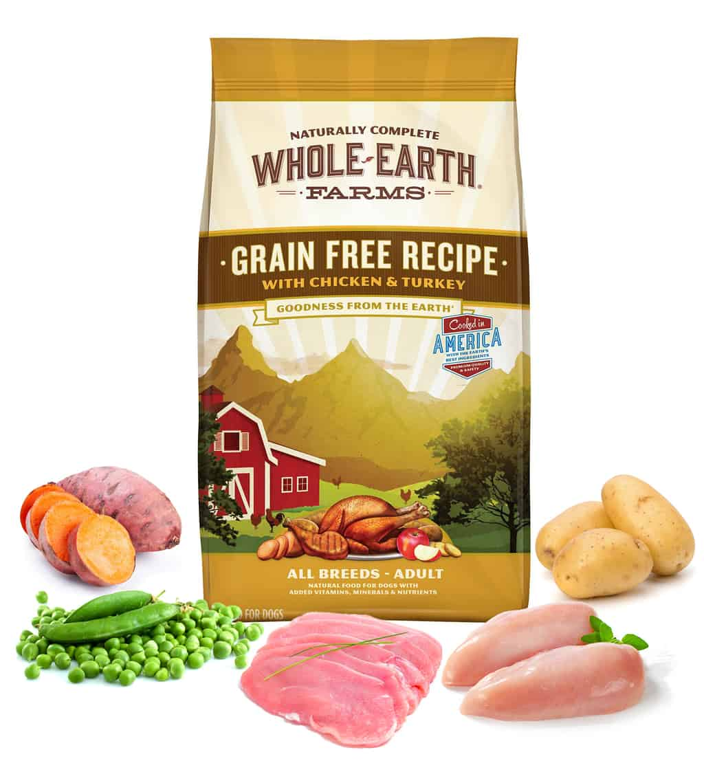 whole earth farms chicken and turkey