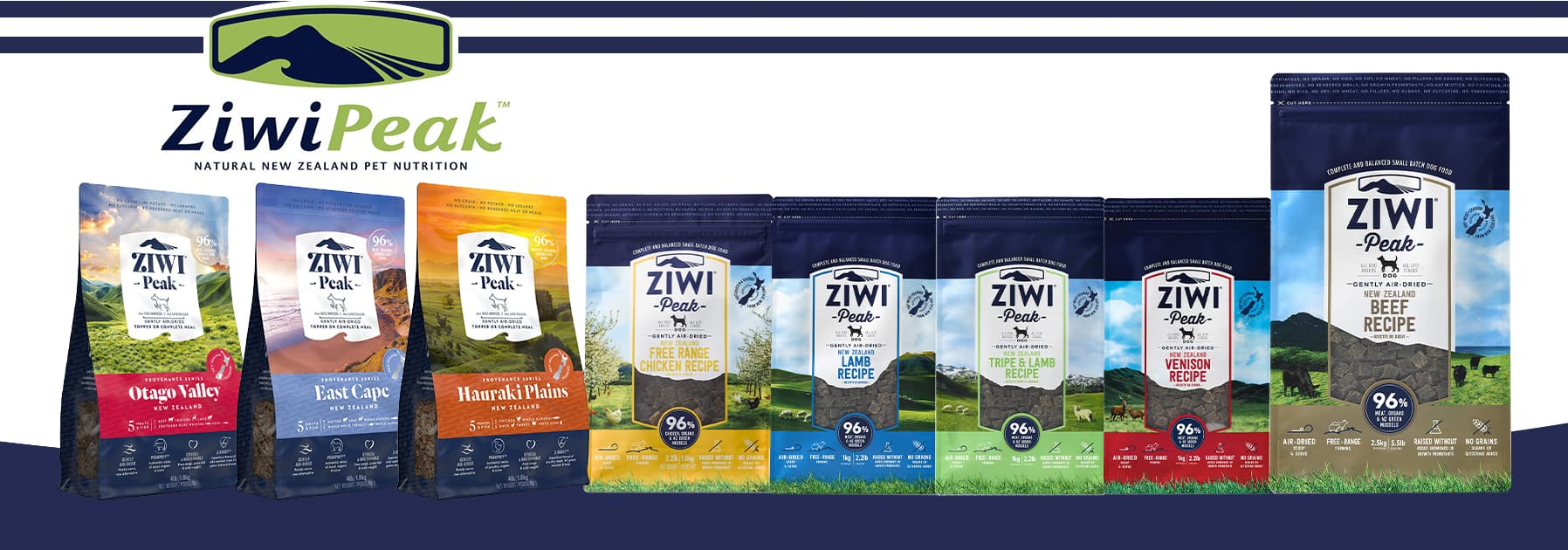 Ziwi Peak Dry Dog Foods