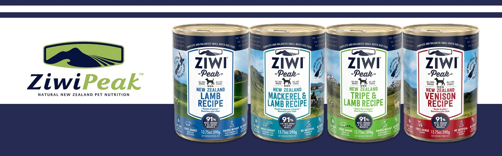 Ziwi Peak Canned Dog Foods