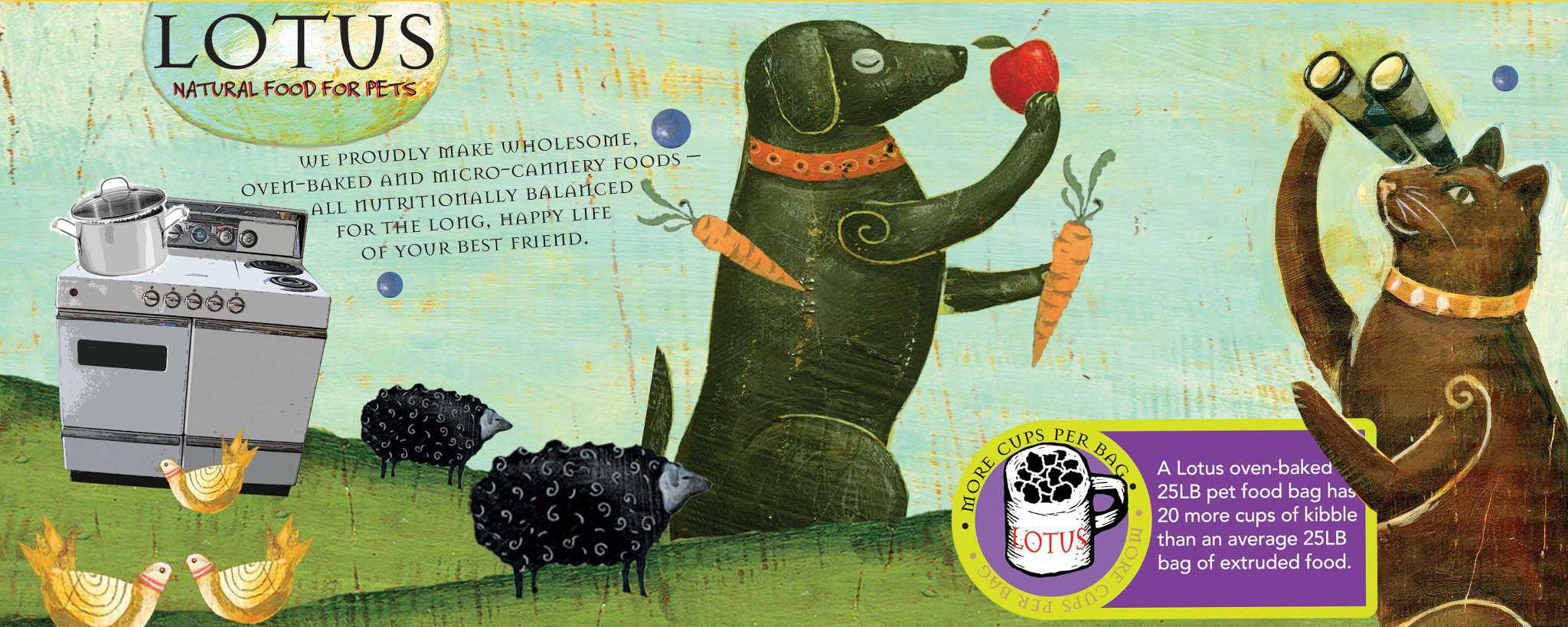 Lotus dog food review