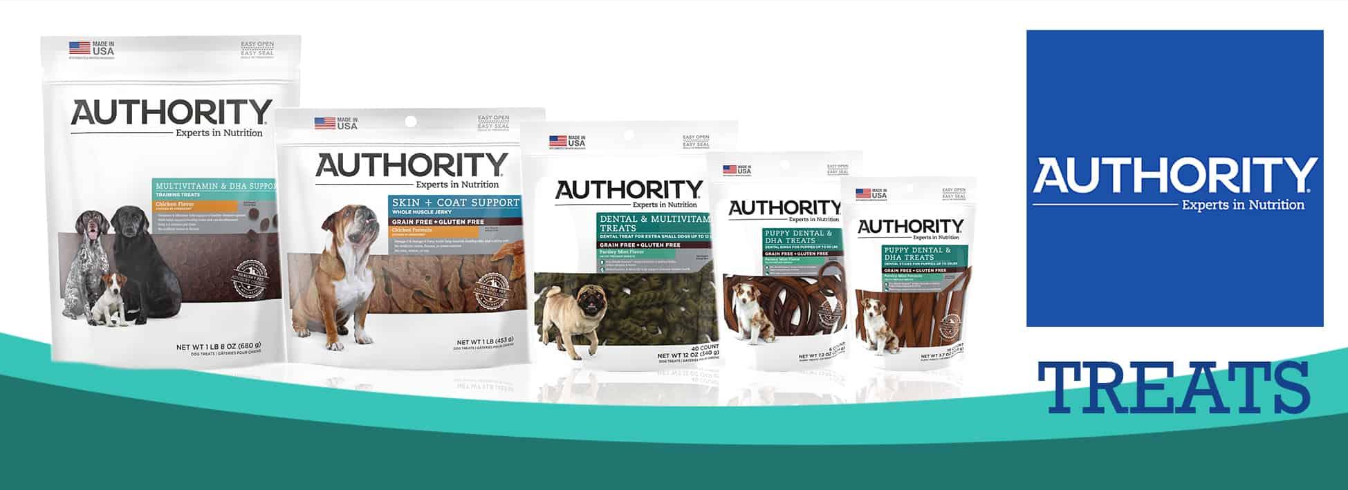 Authority Dog Food Treats