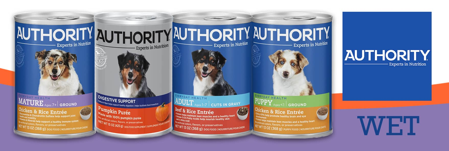 authority dog food reviews