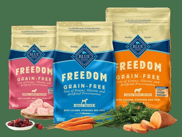 blue freedom dog food reviews