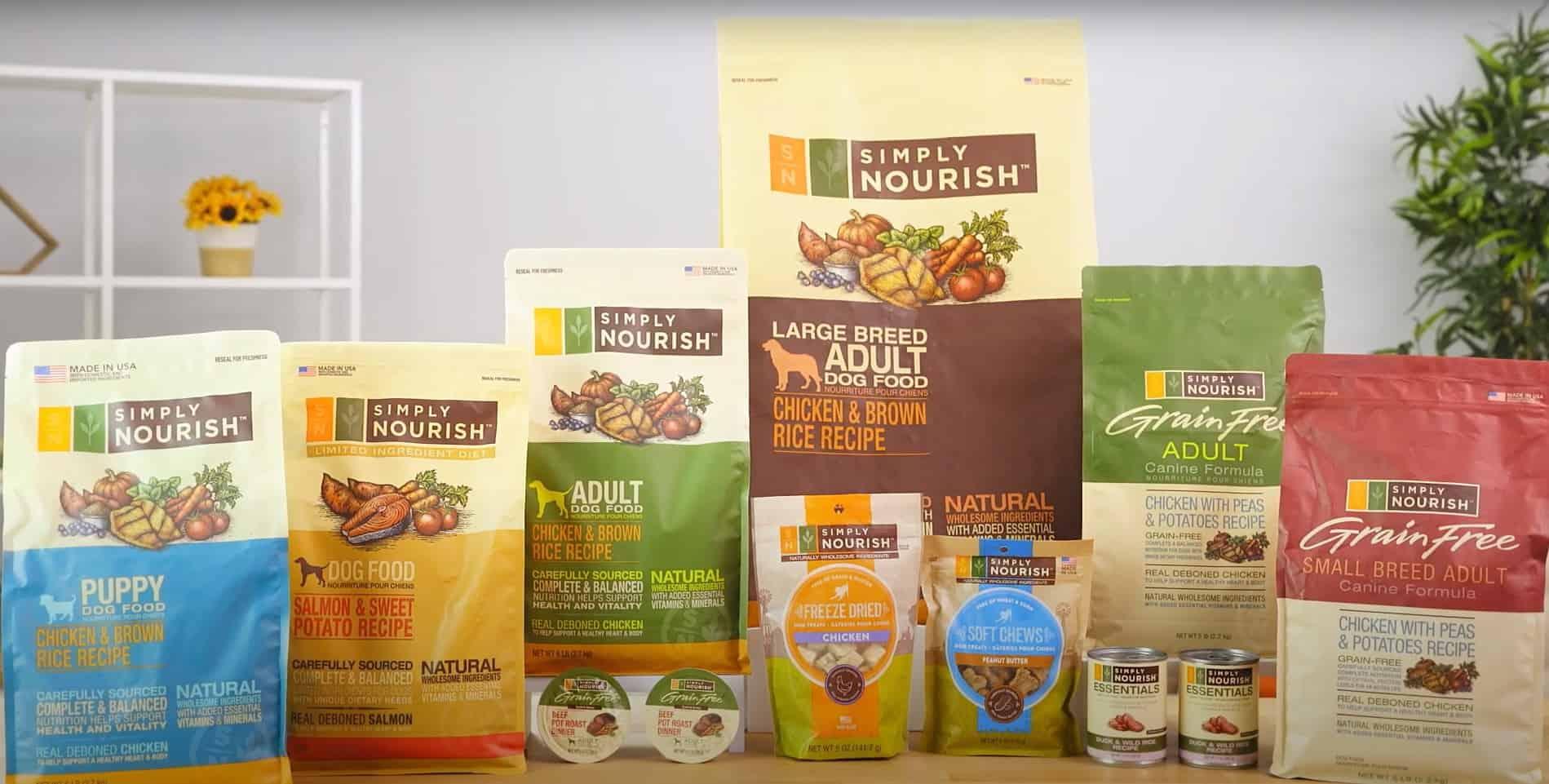 simply nourish dog food reviews