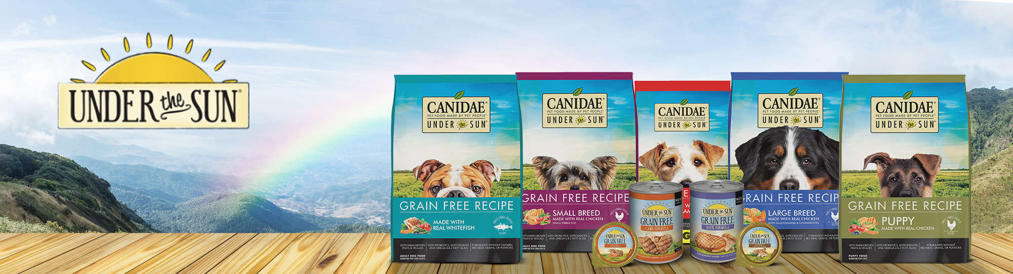 under the sun dog food reviews