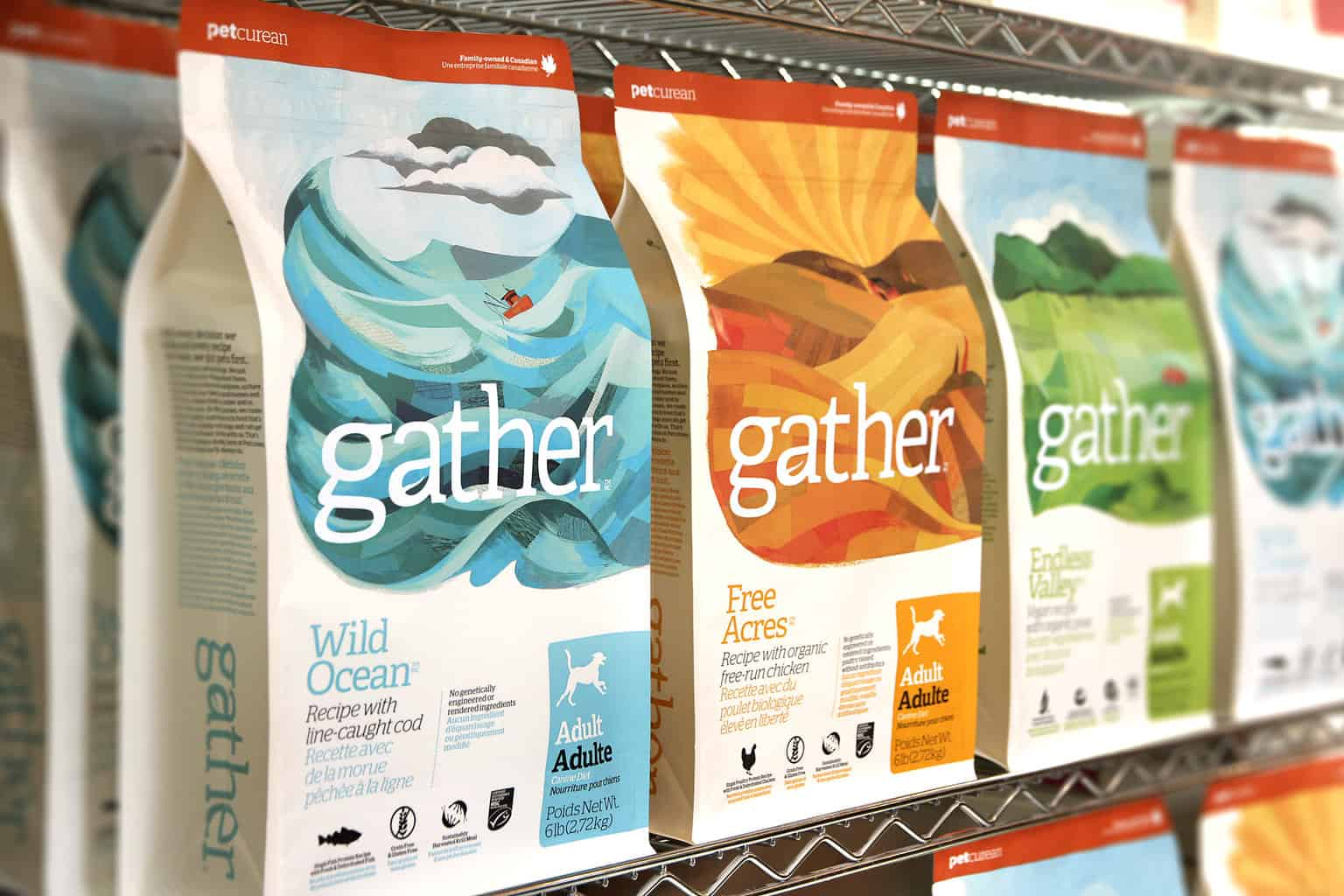 gather dog food review