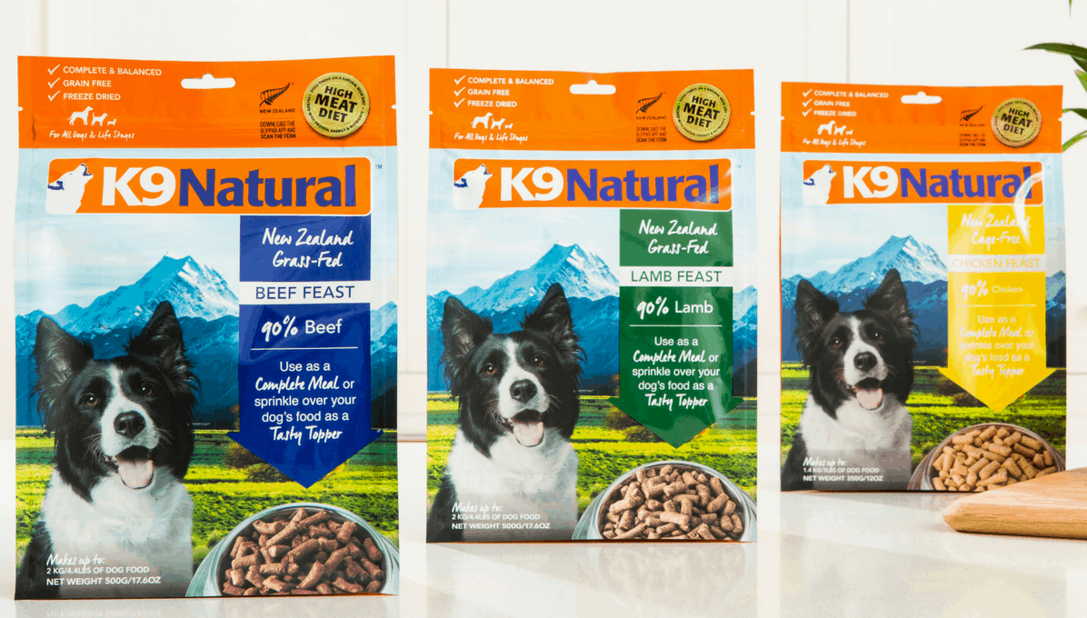 k9 natural dog food review