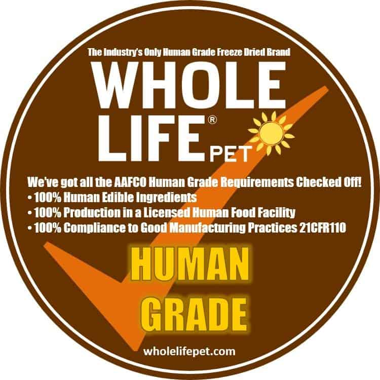 whole life dog food review