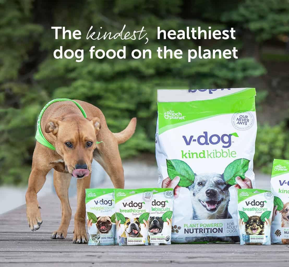 v-dog dog food review