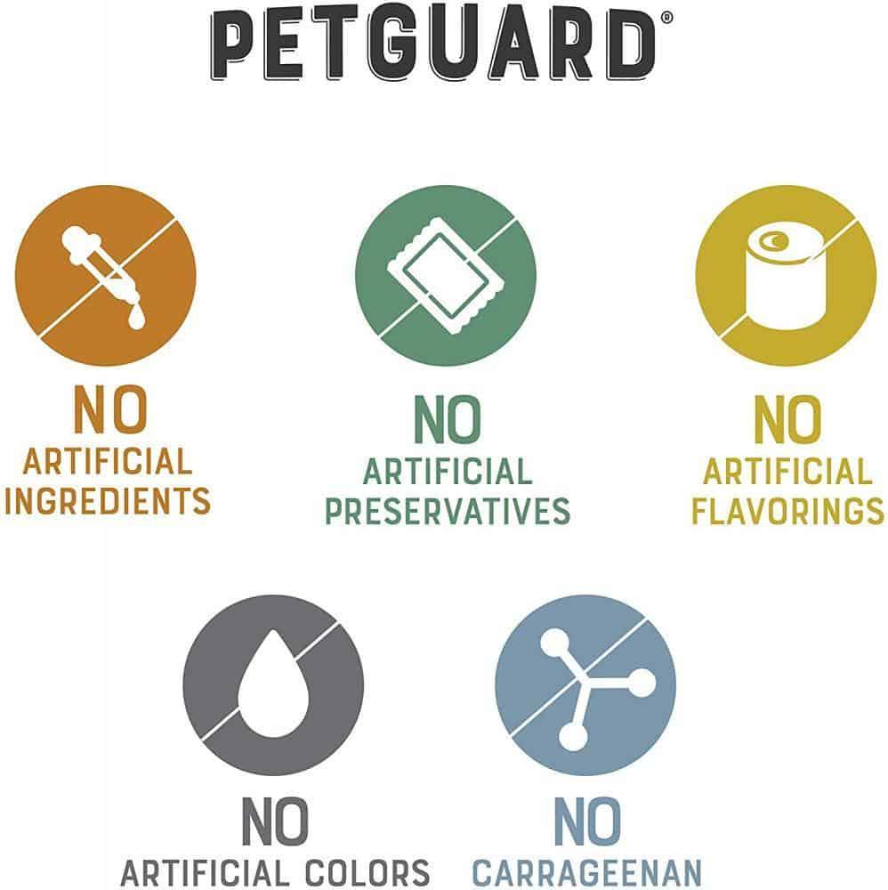 petguard dog food review