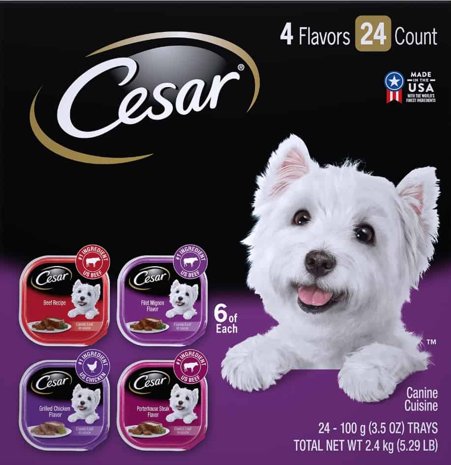 2020 Cesar Dog Food Review: Tasty Meals For Your Little Buddy 13