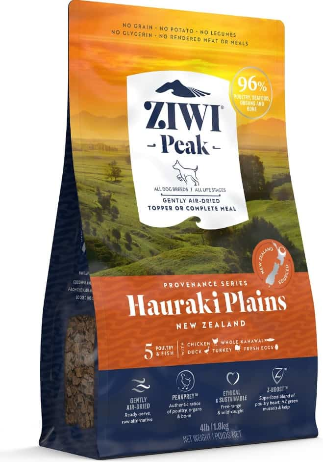ZiwiPeak Dog Food Review 2020: Taste of Life in New Zealand 18
