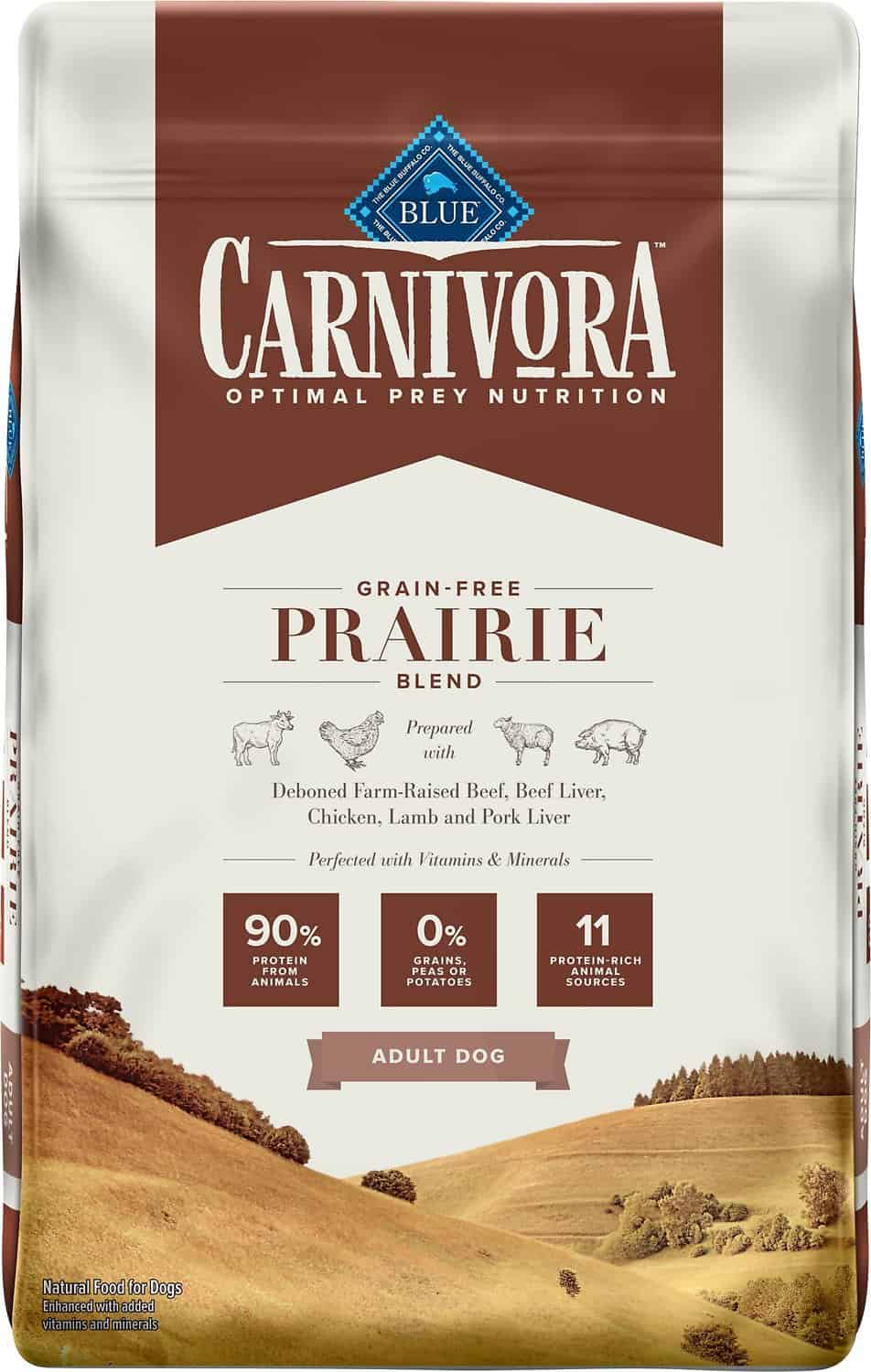 Blue Buffalo Carnivora Review 2021: The Pea & Potato Free Dog Food Line 13