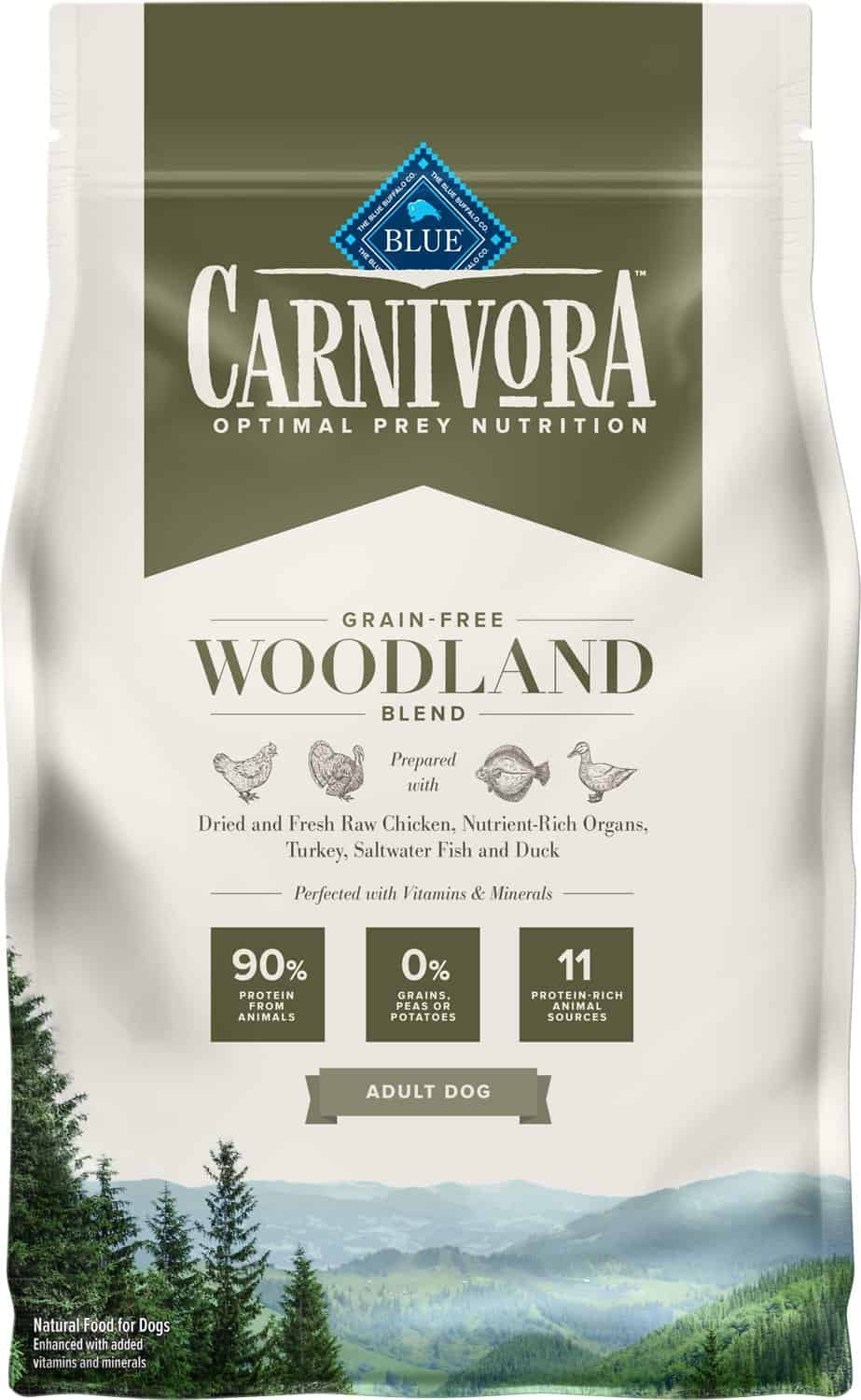 Blue Buffalo Carnivora Review 2021: The Pea & Potato Free Dog Food Line 14