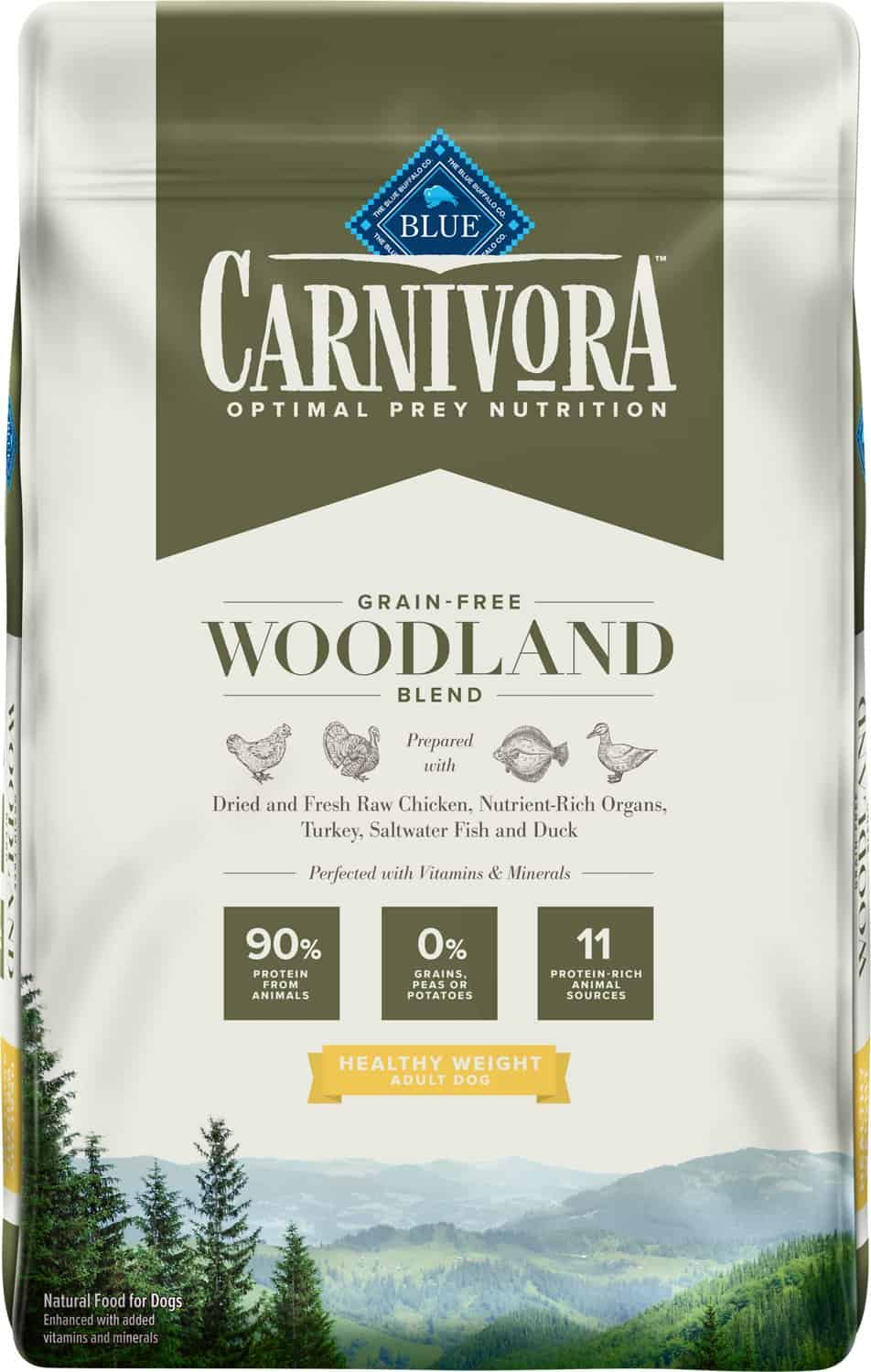 Blue Buffalo Carnivora Review 2021: The Pea & Potato Free Dog Food Line 16