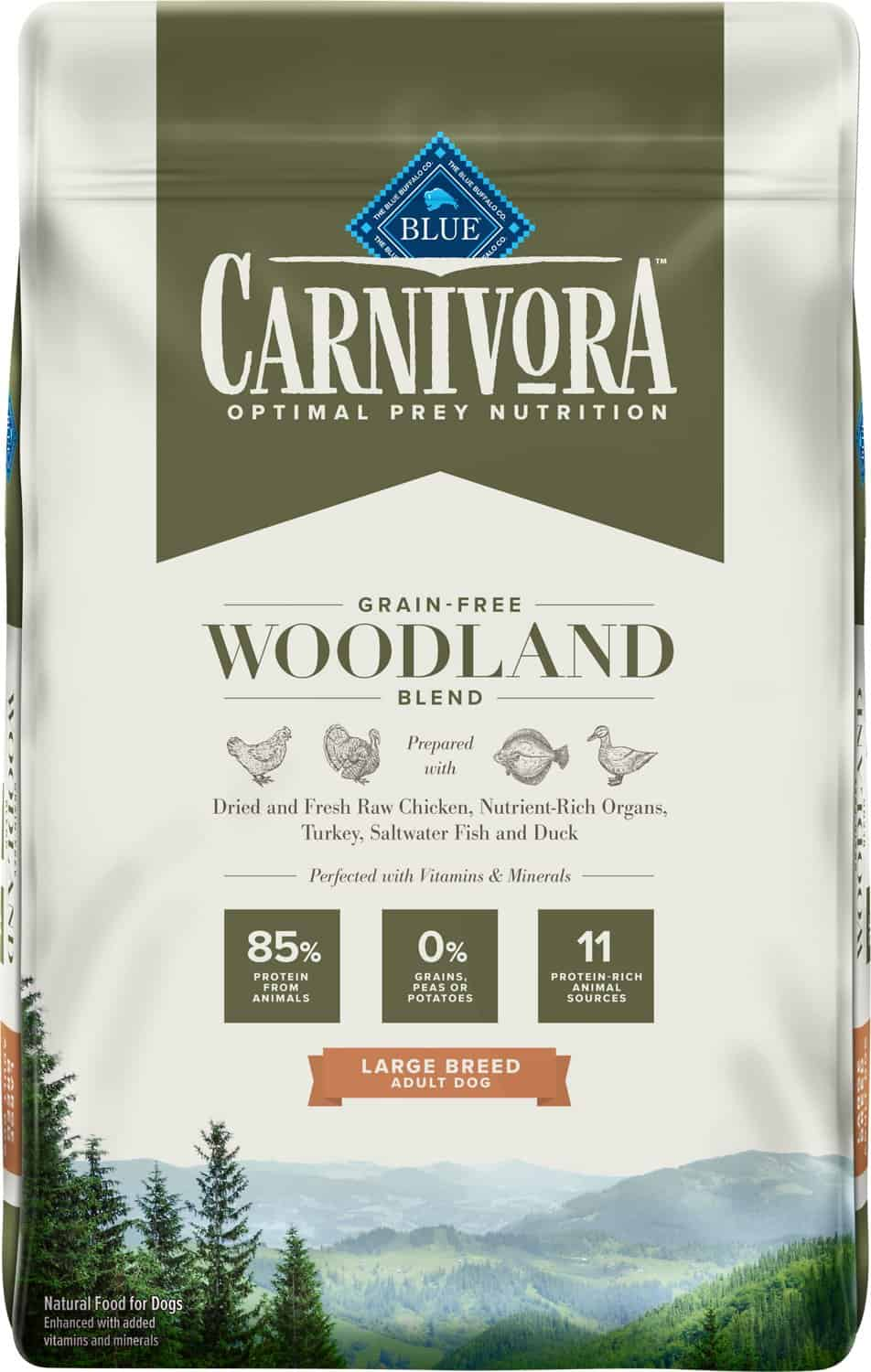 Blue Buffalo Carnivora Review 2021: The Pea & Potato Free Dog Food Line 17
