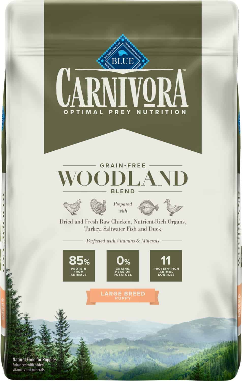 Blue Buffalo Carnivora Review 2021: The Pea & Potato Free Dog Food Line 19