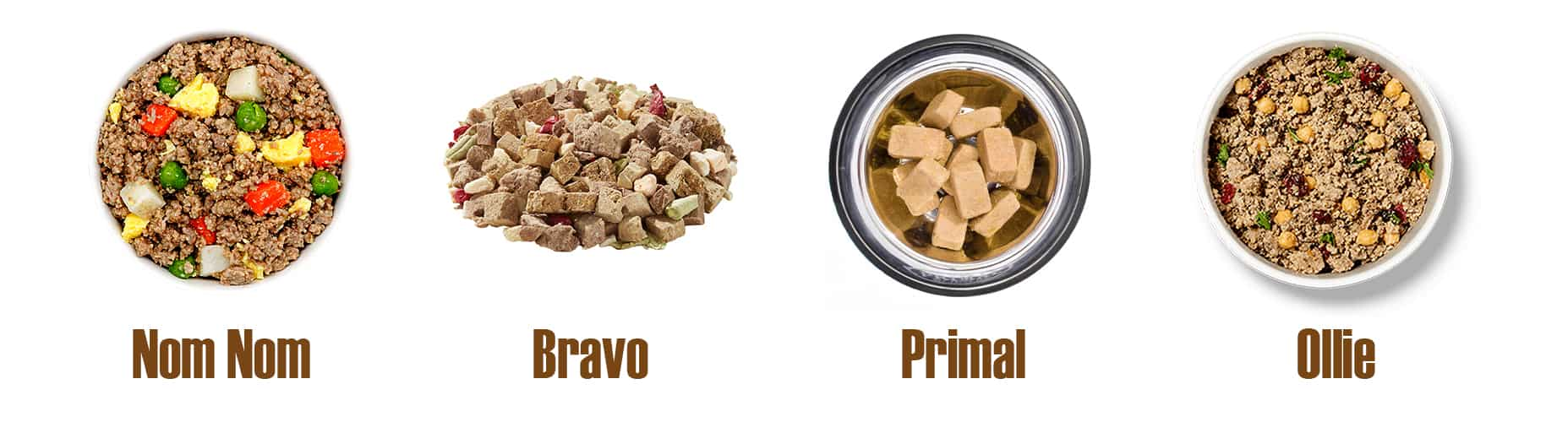 Frozen and Fresh Dog Foods