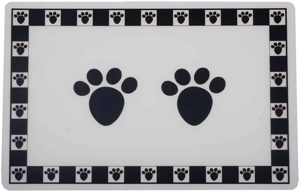 8 Best Dog Food and Water Bowl Mats in 2021 16