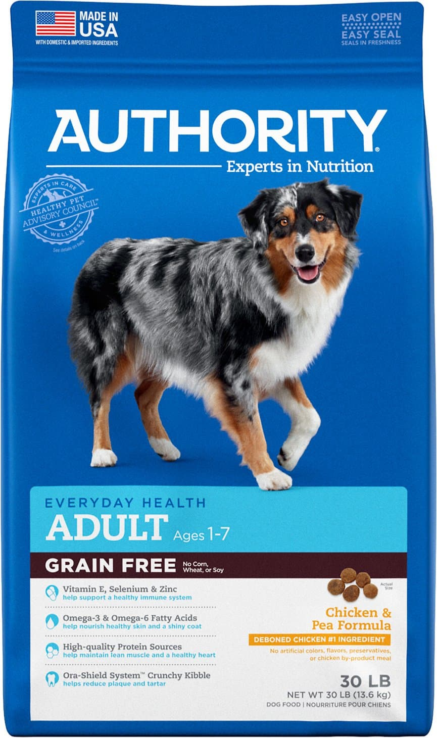 Authority Dog Food Coupons, Reviews and Recalls 2021 11