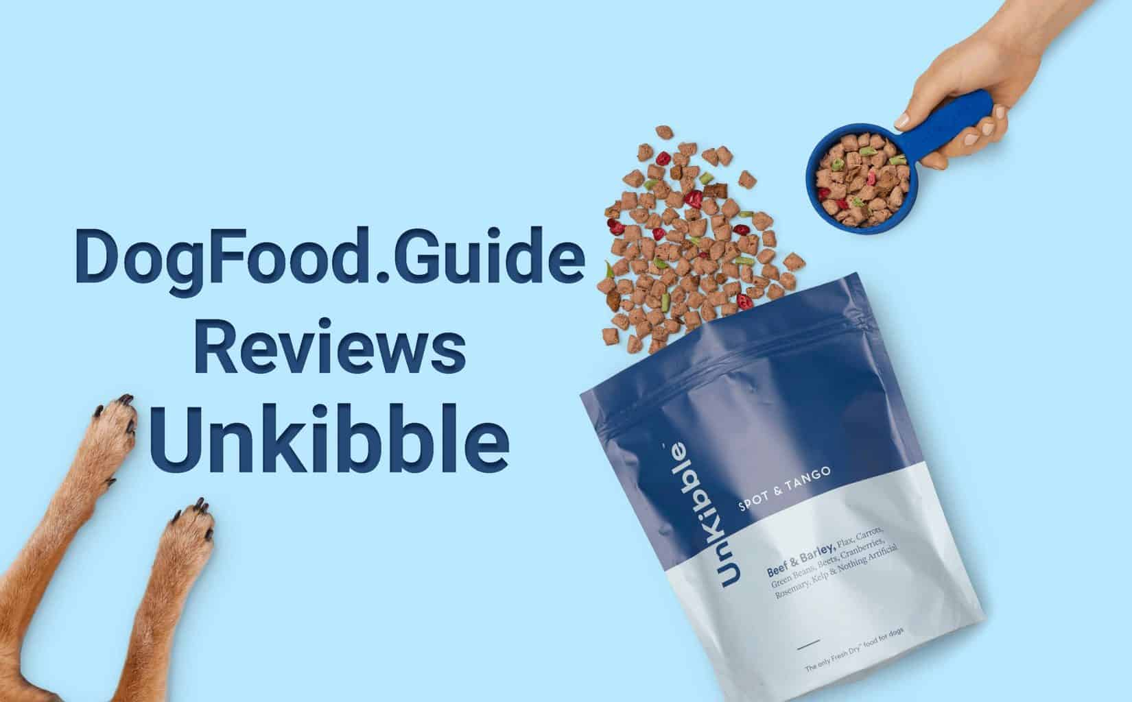 Unkibble dog food review