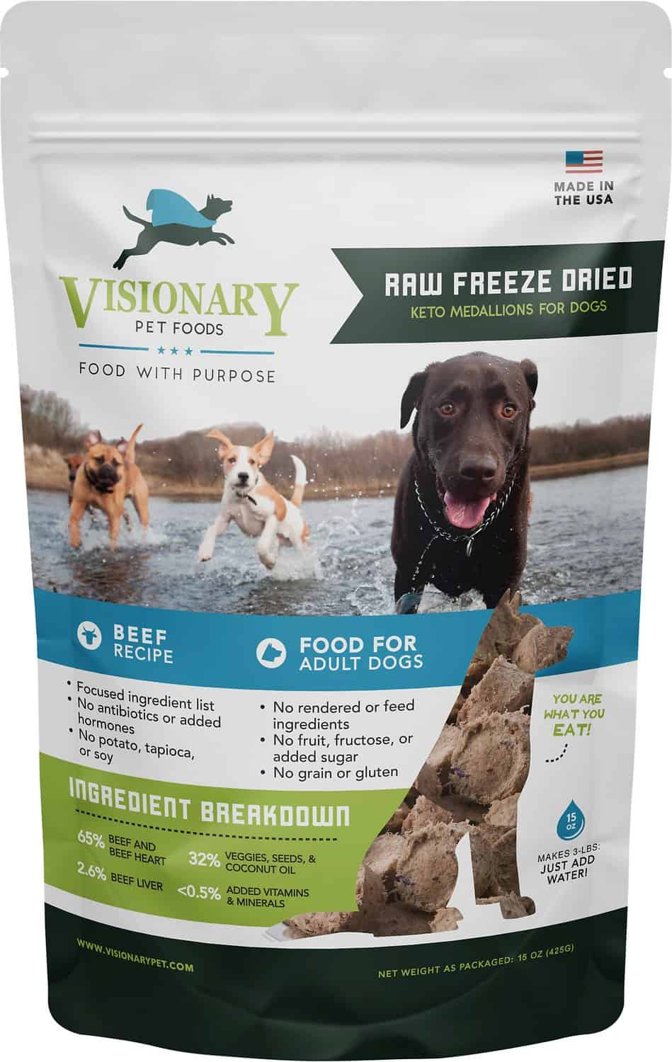 Valiant Dog Food (Now Visionary): [year] Reviews & Coupons 13