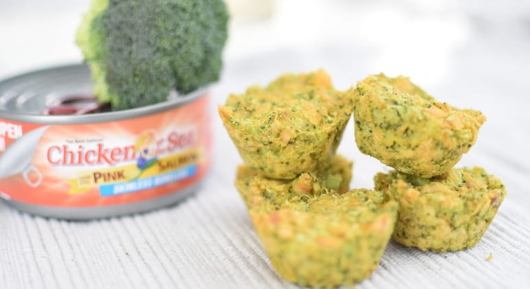 Salmon & Veggie Muffins for dogs