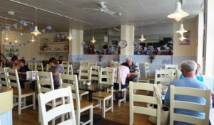 Malletts cafe in Truro