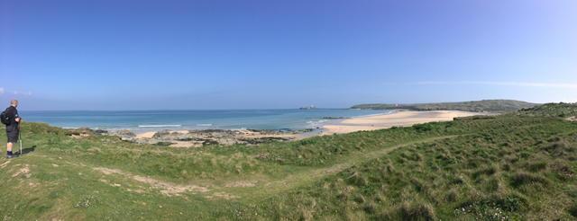 Dog friendly beach: Mexico Towans in Cornwall