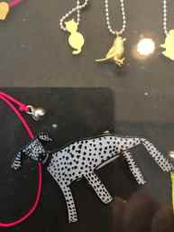 Dog brooch from Arthouse Meath at Kiln Studio, Port Isaac, www.kilnstudio.com
