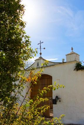 Puerta principal de Trasierra.