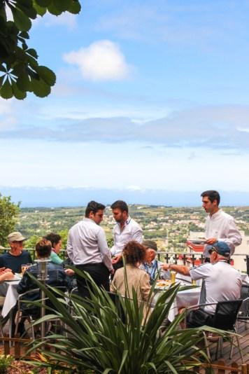 Terraza restaurante Dona Maria, Sintra.
