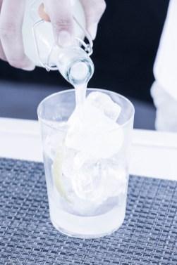 Pomada, una bebida tradicional menorquina.