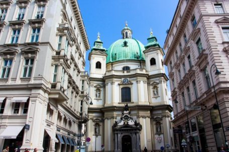 Iglesia de San Pedro, Viena.