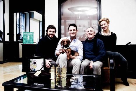 Tercera generación al frente de Campomarzio70, Giovanni Di Liello y sus hijos.