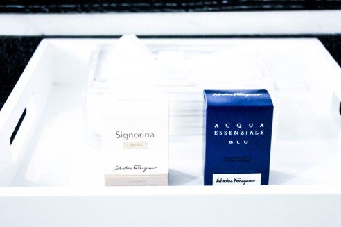 Amenities by SALVATORE FERRAGAMO.