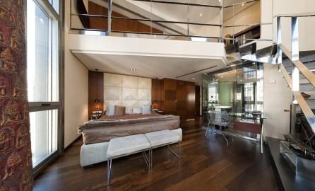 Suite loft hotel Urban, Madrid.
