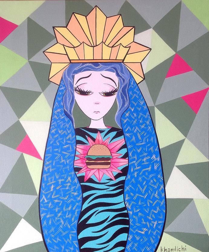 Santa María Bonita... Maténme delgadita, Rebeca Khamlichi.