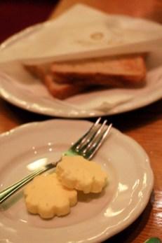 La mantequilla del tirol y ecológica es exquisita.