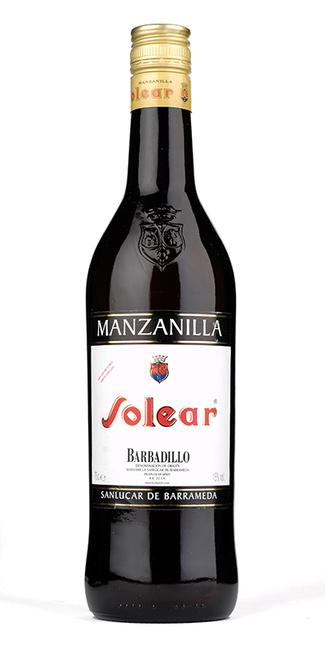 Un clásico, BARBADILLO Solear Manzanilla, 7,90 €.