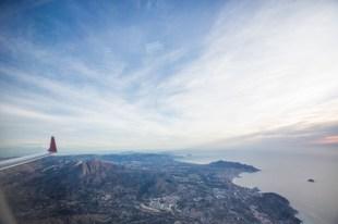 Alicante a la vista.