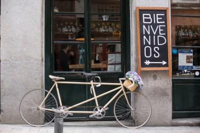 Tandem, un restaurante dog friendly en la calle Sta. María, 39.
