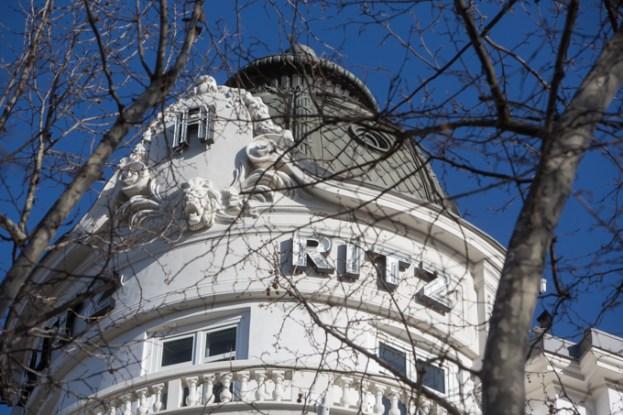 Una de las dos cúpulas del Ritz.