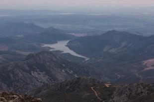 Vistas panorámicas desde el pico más alto del Geoparque.