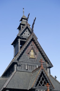 Iglesia de madera de Lærdal. Foto: Anne-Lise Reinsfelt/Norsk Folkemuseum/visitnorway.com.